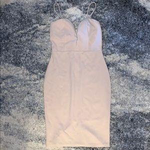 Windsor Nude Bodycon Dress